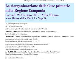 """Giornata di studio """" La riorganizzazione delle cure primarie nella Regione Campania"""""""